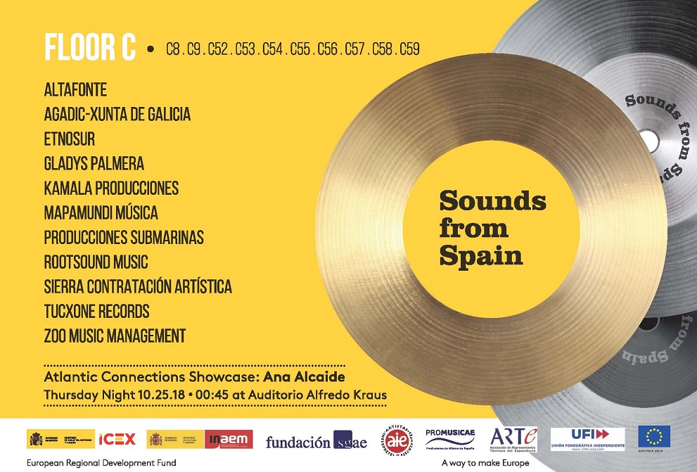 SOUNDS FROM SPAIN VUELVE UN AÑO MÁS A SU CITA CON WOMEX