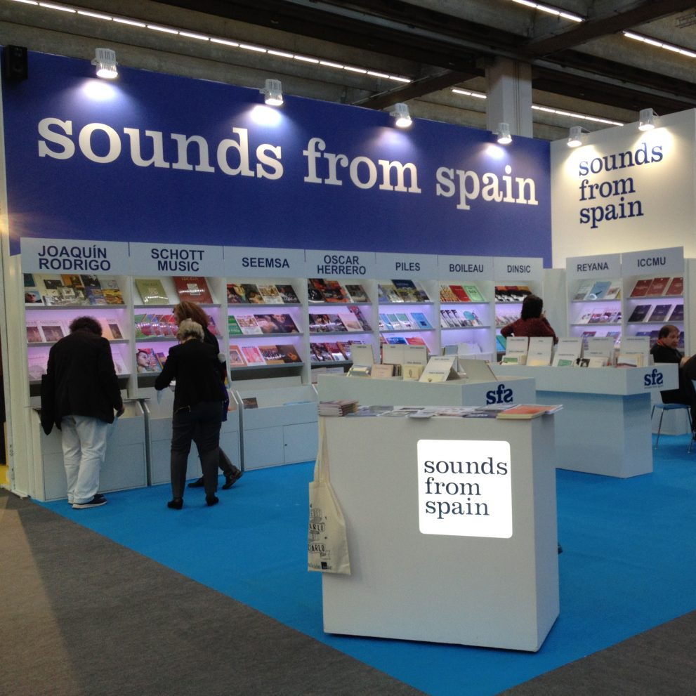 Sounds From Spain - CONVOCATORIA EMPRESAS – FERIA MUSIKMESSE 2017
