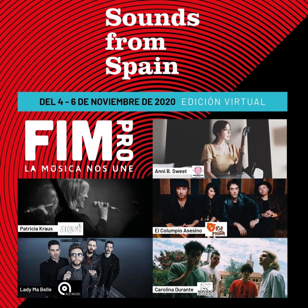 SOUNDS FROM SPAIN PARTICIPA EN LA EDICIÓN VIRTUAL DE  FIMPRO