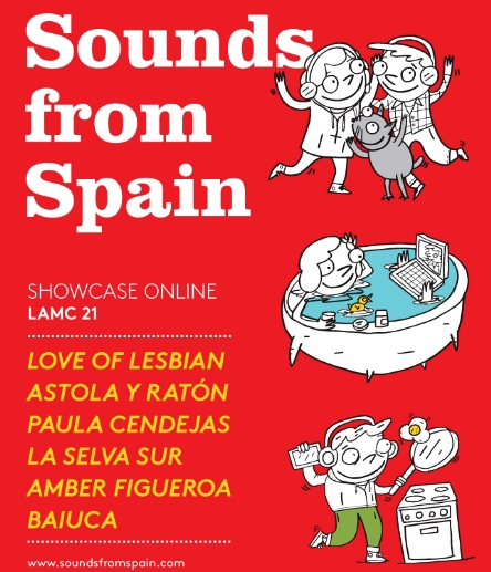 Sounds from Spain is back in 2021 LAMC online edition