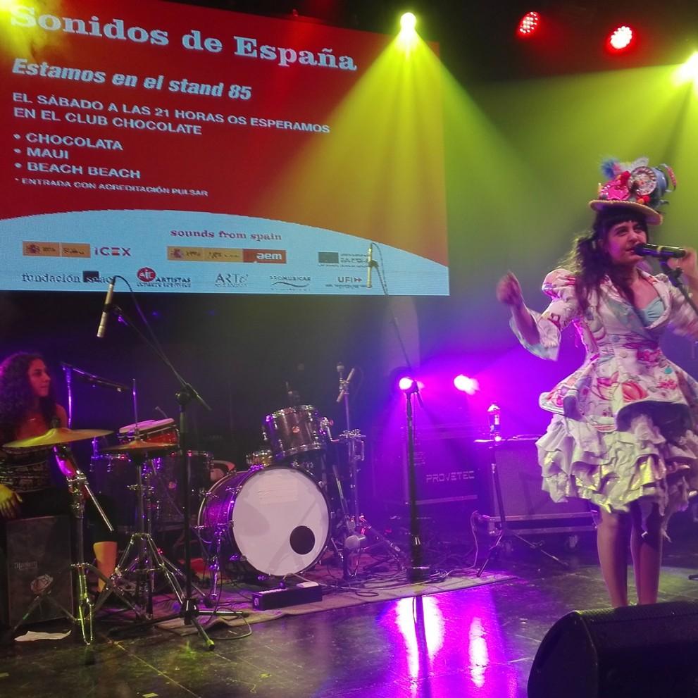 La música española llega a Pulsar de la mano de Sounds From Spain