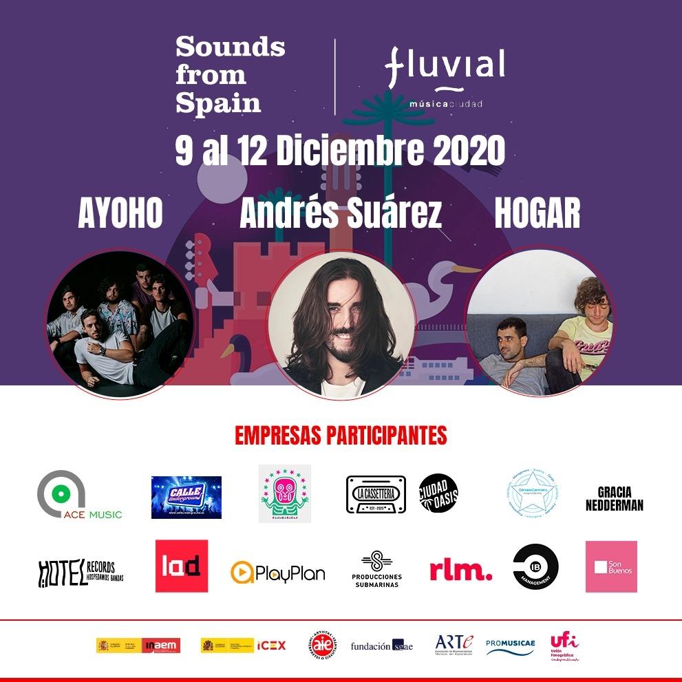 Sounds From Spain lleva la música española a Chile a través de Fluvial