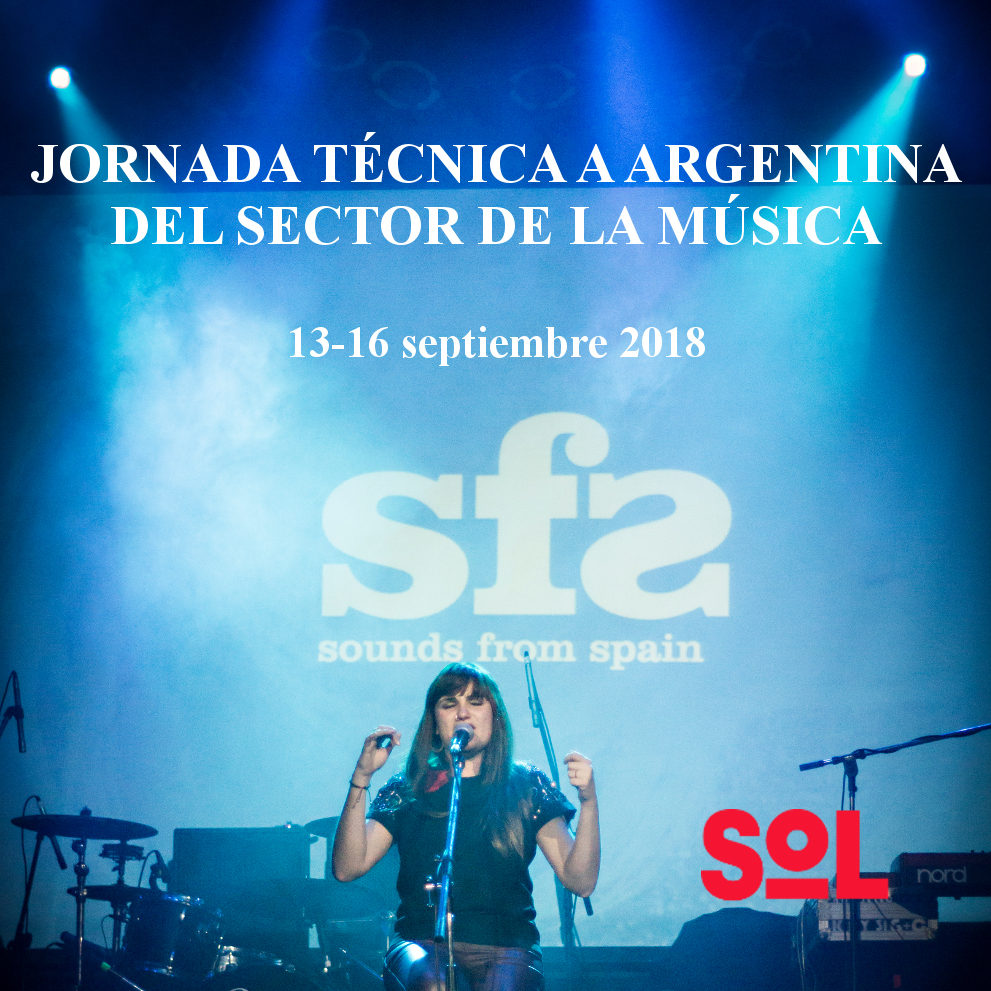 Sounds From Spain - CONVOCATORIA JORNADA TÉCNICA A ARGENTINA DEL SECTOR DE LA MÚSICA
