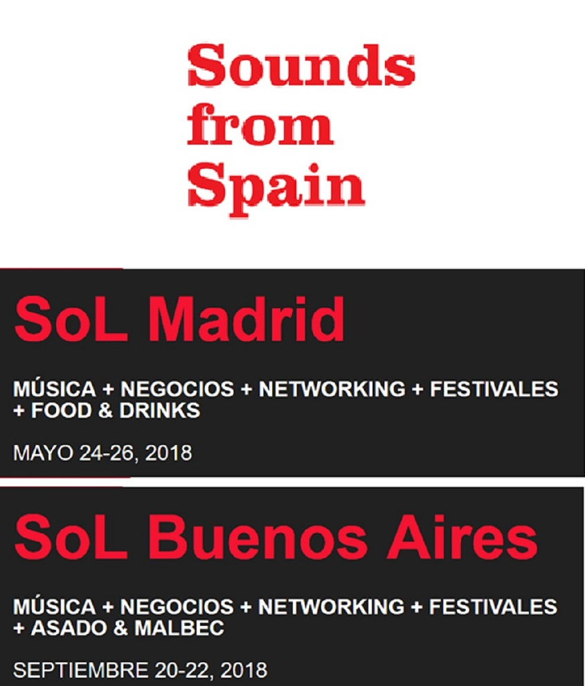 SOUNDS FROM SPAIN ESTARÁ PRESENTE EN LOS ENCUENTROS DE NETWORKING EN SOL MADRID Y SOL BUENOS AIRES