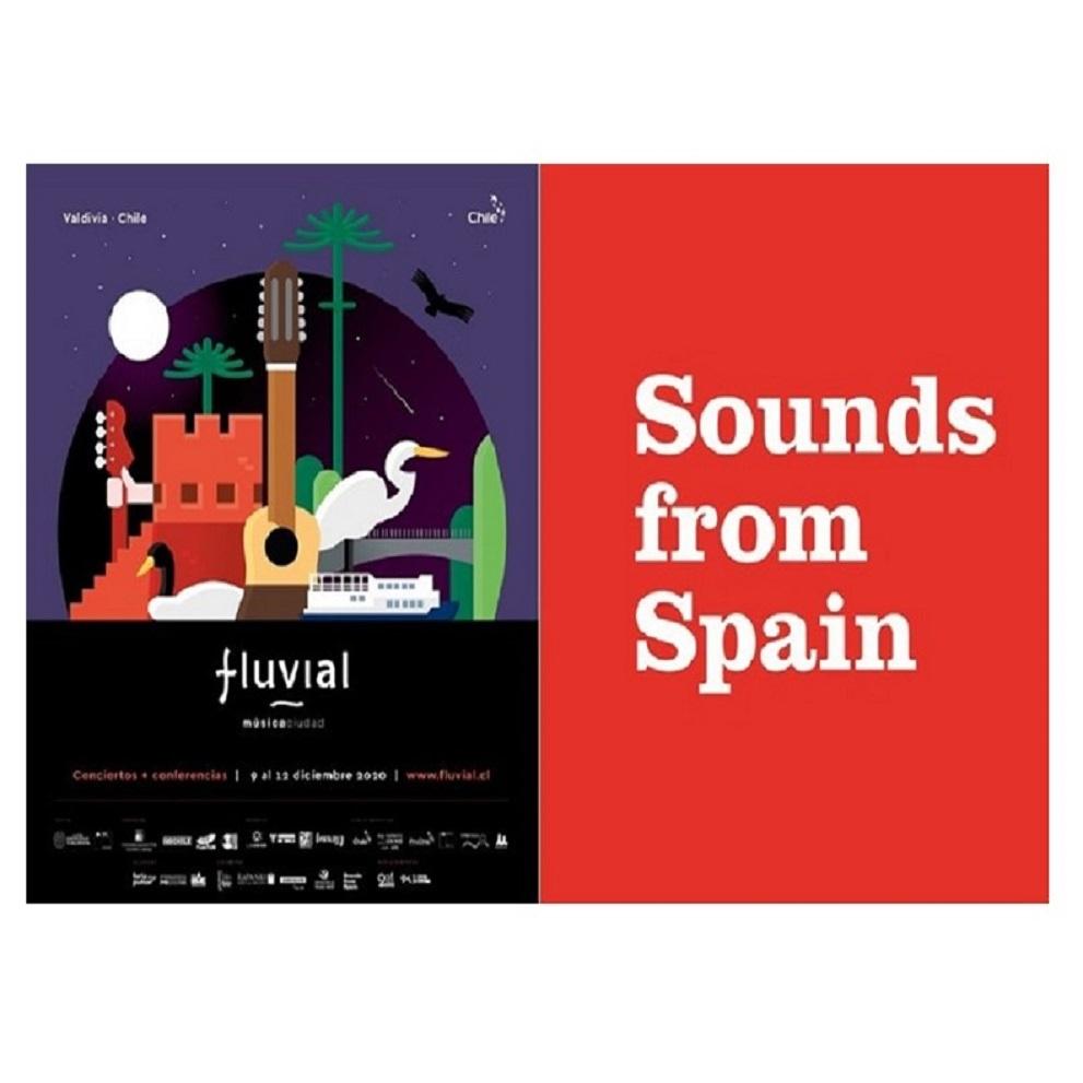 CONVOCATORIA A EMPRESAS DE LA MÚSICA PARTICIPACIÓN SOUNDS FROM SPAIN EN LA EDICIÓN DIGITAL FLUVIAL 2020 (CHILE)