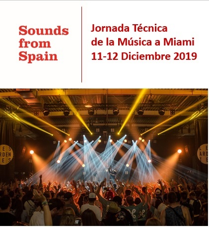 Sounds From Spain - CONVOCATORIA JORNADA TÉCNICA A MIAMI DEL SECTOR DE LA MÚSICA