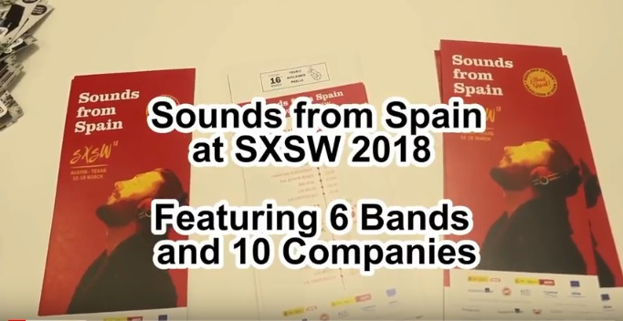 VIDEO RESUMEN DE LA PARTICIPACIÓN DE SOUNDS FROM SPAIN EN SXSW 2018