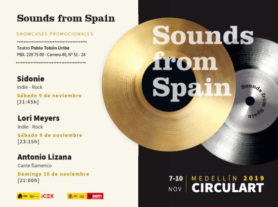 SOUNDS FROM SPAIN LLEVA LA MÚSICA ESPAÑOLA A CIRCULART POR TERCER AÑO CONSECUTIVO