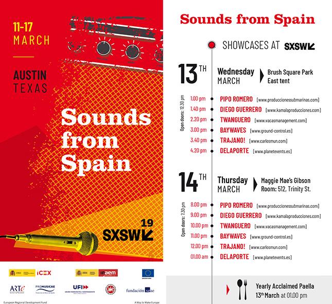 VIDEO – Sounds from Spain en SXSW