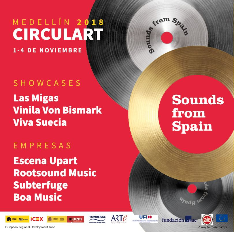 VIDEO – Sounds from Spain in Circulart (Colombia)