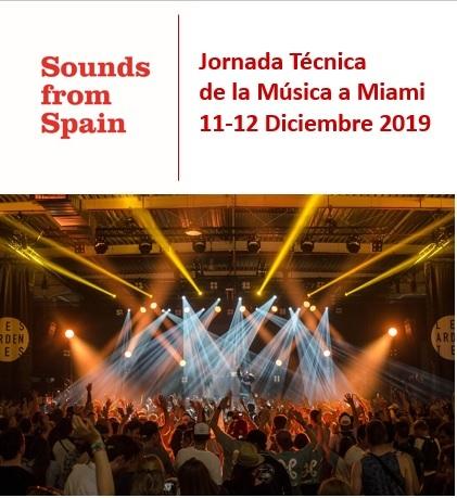 Sounds From Spain - CONVOCATORIA JORNADA TÉCNICA A MIAMI DEL SECTOR DE LA MÚSICA