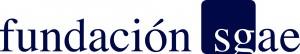 logo fundación sgae