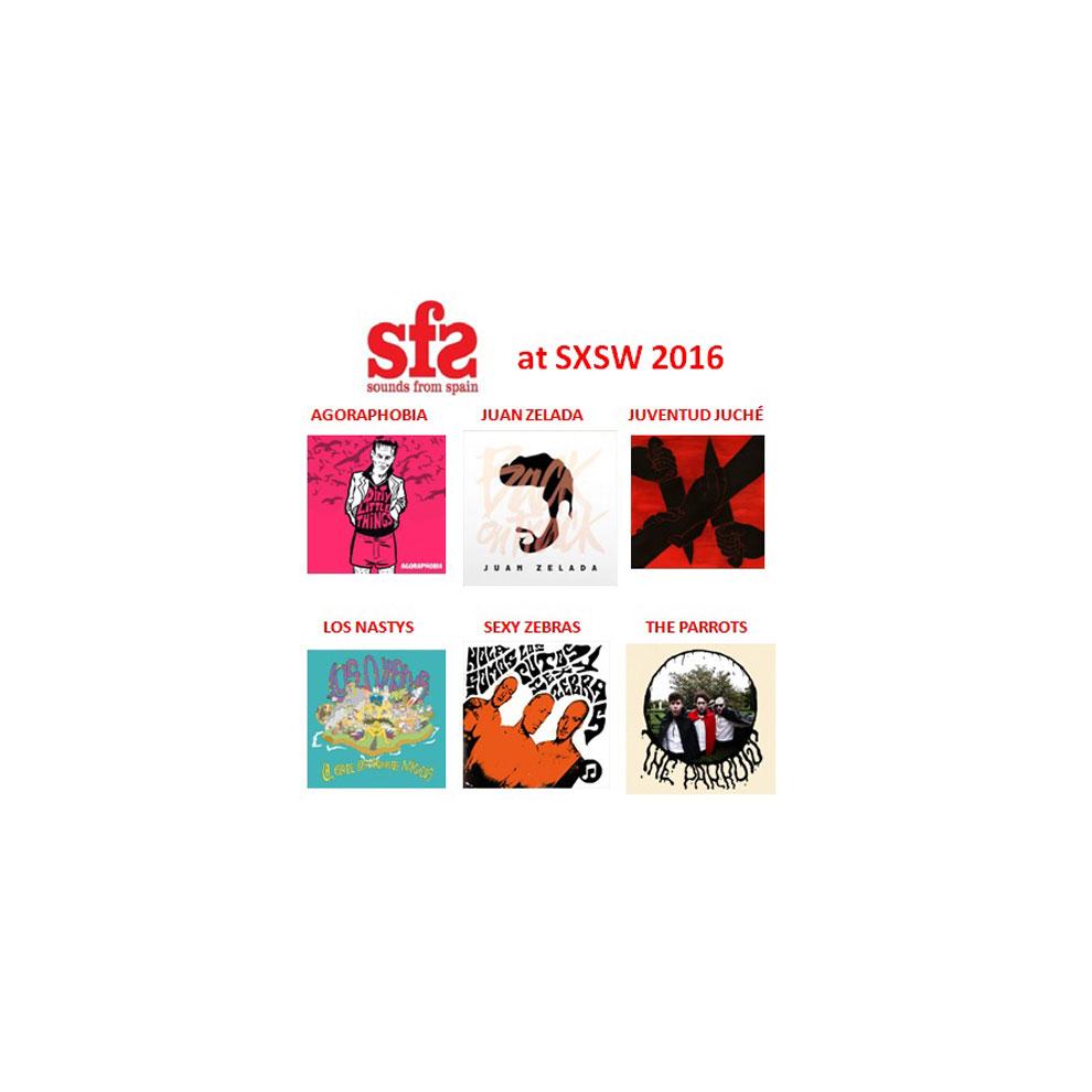 Roster definitivo de bandas Sounds From Spain en South by South West 2016