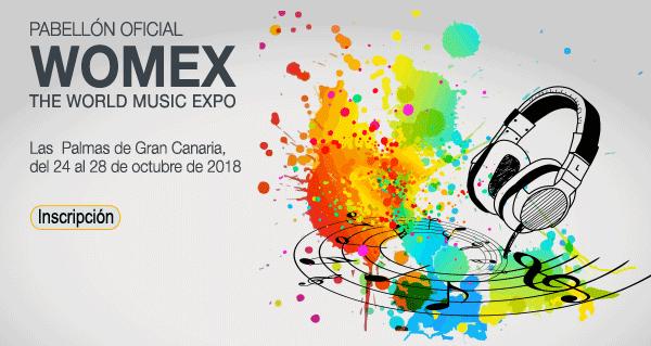 Sounds From Spain - CONVOCATORIA WOMEX 2018 – World Music Expo – Las Palmas de Gran Canarias
